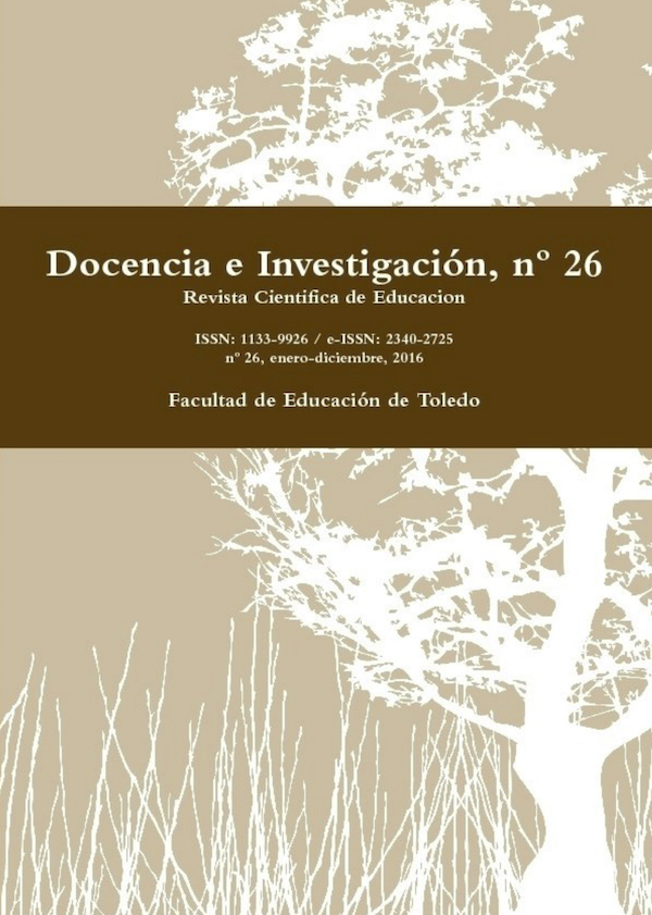 nº 26 de la Revista Docencia e Investigación