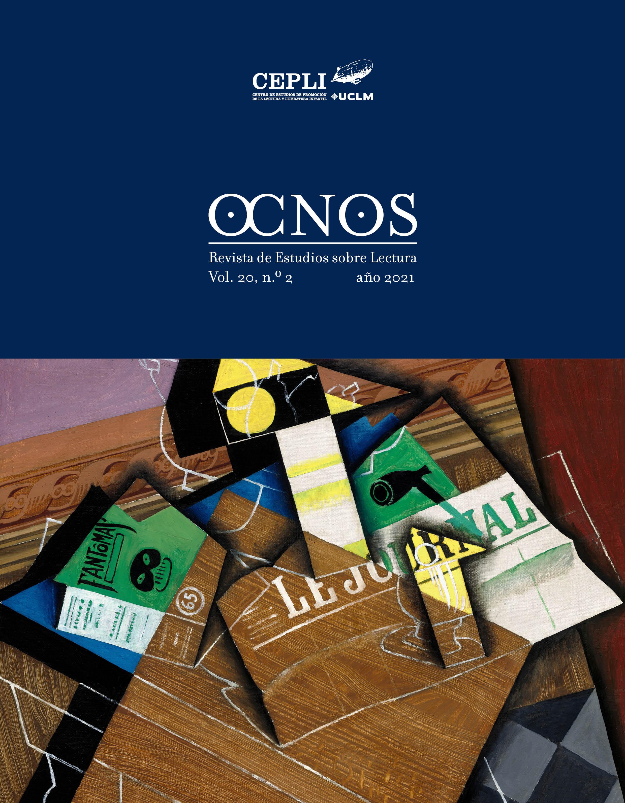 Cubierta Ocnos. Revista de estudios sobre lectura.